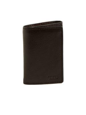 Tri-Fold Leather Wallet...