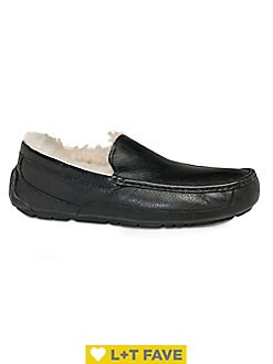 b2209a7d6f4 Men's Slippers: Sheepskin, Moccasin & More | Lord + Taylor