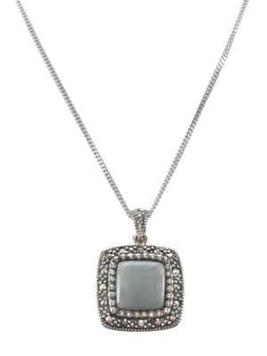 Sterling Silver And Marcasite...