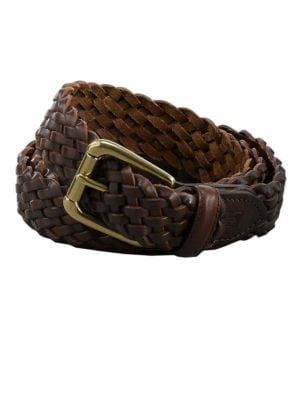 Braided Leather Belt...