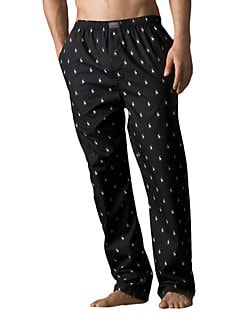 001a15ad98 Product image. QUICK VIEW. Polo Ralph Lauren. Printed Pony Sleep Pants