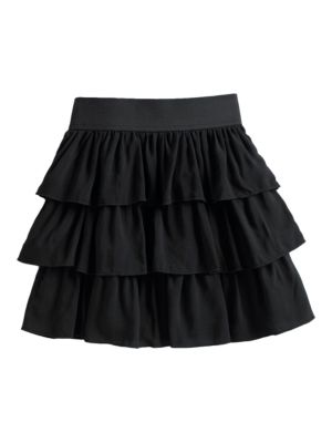 Girl's Tiered Skirt @...