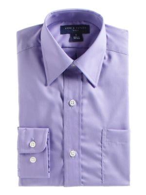 Boy's Button-Down Cotton...