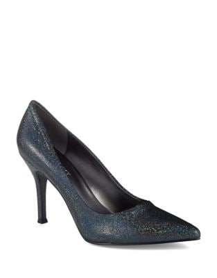 Flax Classic Point Toe Pump by Nine West