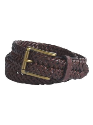 Boy's Braided Leather...