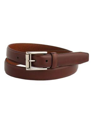 Leather Buckle Belt @...