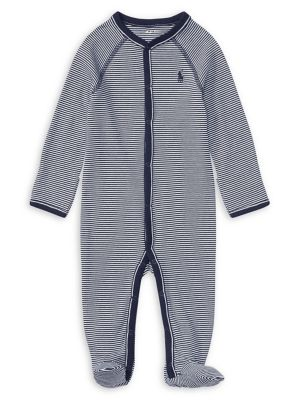 Infant's Striped Coverall...