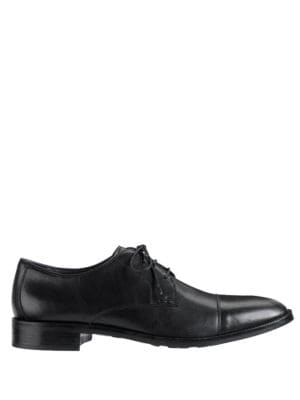 Lenox Hill Cap-Toe Oxfords...