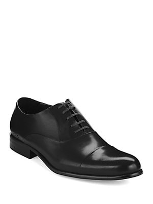 54ea5e4ed Kenneth Cole New York - Chief Council Leather Cap-Toe Oxfords -  lordandtaylor.com