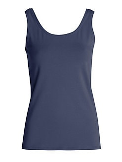 Girls Under Armour Big Logo Cropped Layer Tank Top Aqua Blue With Silver Size 5