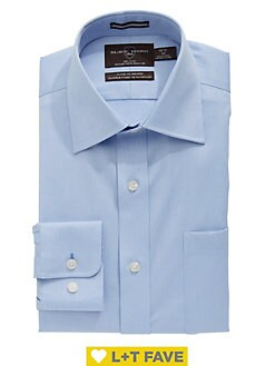 3c24231a Classic Fit Non-Iron Dress Shirt BLUE. QUICK VIEW. Product image