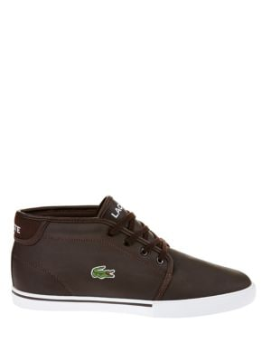 Leather Chukka-Style...