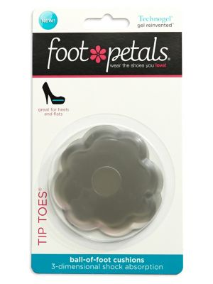 Two Pack Tip Toes Gel Inserts by Footpetals
