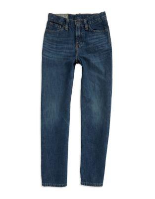 Boy's Slim-Fit Cotton Jeans 500018898825