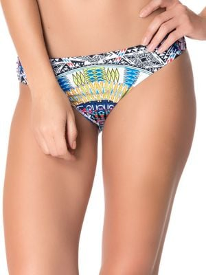 Tribal Print Swim Hipster by Red Carter