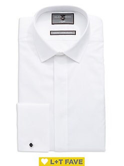 d05434fe Slim-Fit French Cuff Dress Shirt WHITE. QUICK VIEW. Product image