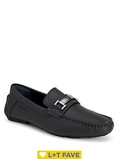 cf6e86e4ea Magnus Leather Bit Driver Shoes WHITE. QUICK VIEW. Product image