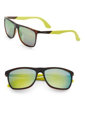 Image of 56mm Rectangle Sunglasses