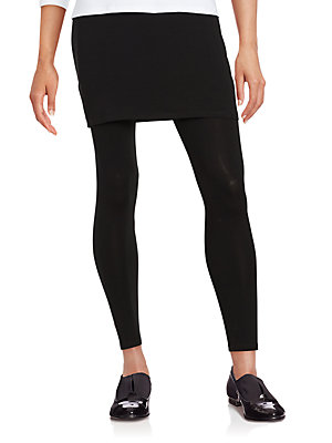 a6499ef46f741 Eileen Fisher - Jersey Skirted Ankle Leggings - lordandtaylor.com