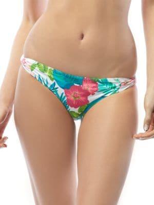 Skinny Dip Floral Print Swim Hipster by Coco Reef