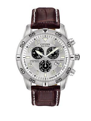 Perpetual Calendar Chronograph Watch
