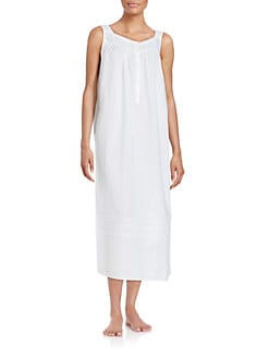 f7971775d3 QUICK VIEW. Eileen West. Cotton Nightgown