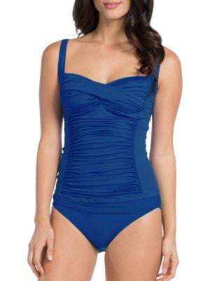 Ruched Sweetheart Tankini by La Blanca