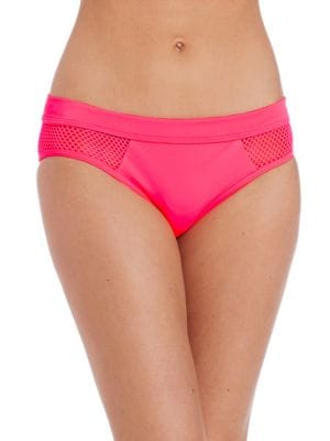 Mesh Effect Splice Bikini Bottom by DKNY
