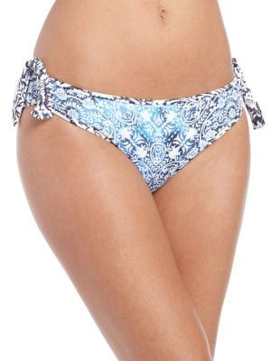 Blue Floral Reversible Hipster Bottom by Tommy Bahama