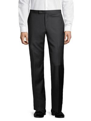 Straight-Leg Wool Tuxedo...