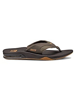 004400bd95995 Fanning Thong Sandals BROWN. QUICK VIEW. Product image