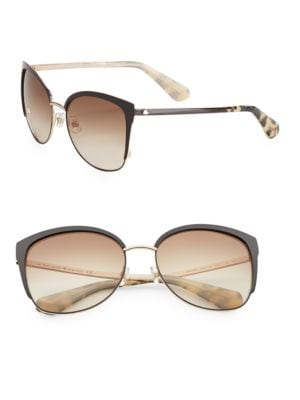 Image of Genice 57mm Round Sunglasses