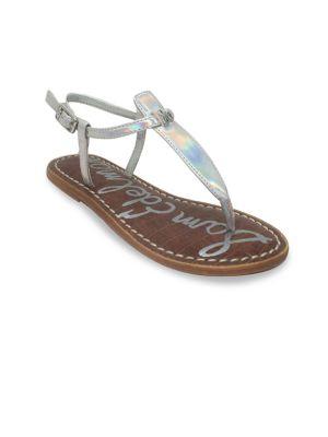 Gigi Charm Thong Sandals...