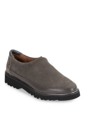 Carly Suede Slip-On Shoes by Donald J Pliner