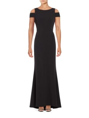 Cold-Shoulder Gown by Vince Camuto