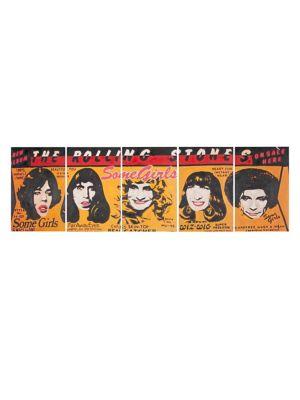 Set of Five Girl Power Wall Art