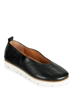 Demi Wedge Heel Leather Shoes by Gentle Souls