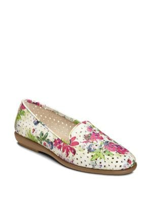 Cutwork Leather Loafers by Aerosoles