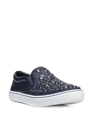 Paven Suede Studded Sneakers by Sam Edelman