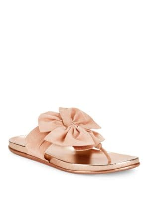 Slim Gal Bow Thong Sandals by Kenneth Cole REACTION