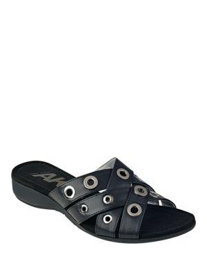 Kandis Grommet Sandals by Anne Klein