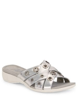 Kandis Slide Sandals by Anne Klein