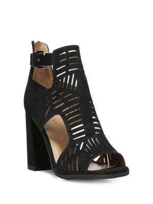 Margie Cutout Sandals by Franco Sarto