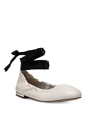 2edc3535c Sam Edelman - Fallon Lace-Up Ballet Flats - lordandtaylor.com
