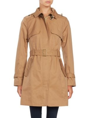 Hooded Trenchcoat @...