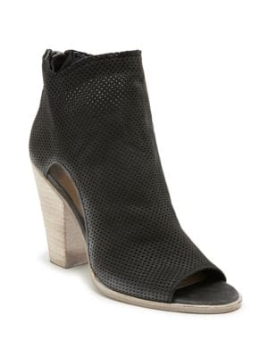 Harem Open-Toe Perforated Ankle Boots by Dolce Vita
