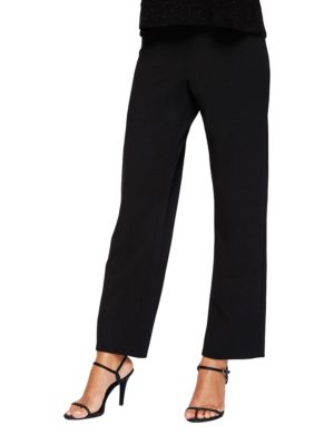 Plus Slim-Leg Dress Pants by Alex Evenings