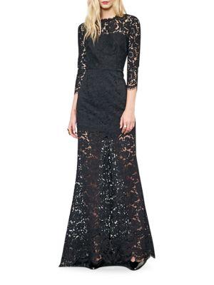 Carolyn Lace Gown by Rachel Zoe