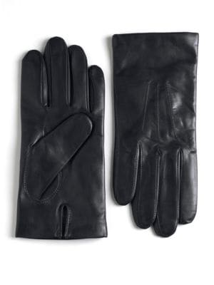 Cashmere Lined Leather...