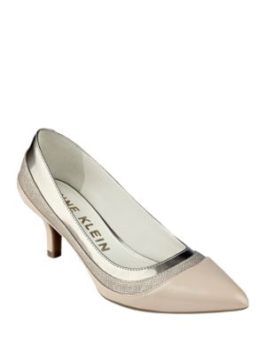 Fairly Textured Pumps by Anne Klein